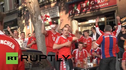 Spain: Fan galore as Barcelona and Bayern clash in Champions League semi-final