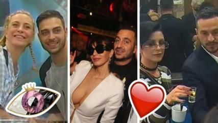 Топ 7 на най-знаковите двойки от VIP Brother, награбили се в Къщата