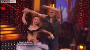 Dancing With The Stars Us - Кънтри ту степ - Chuck & Anna