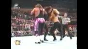 Wwe-Taker-Double Chokeslam To Hbk And Hart