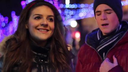 Коледен български кавър! Доника Стратиева и Вениамин Димитров - Един момент (cover)