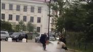 Опит за самозапалването в Магадан Русия