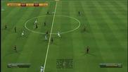 Barcelona vs Manchester City Fifa 14 дузпи