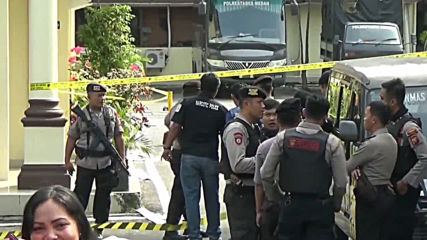 Indonesia: At least 6 injured after suicide bomber targets Medan police HQ