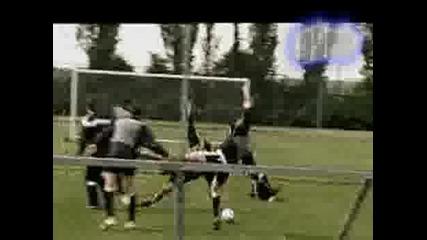 Тренировката На Един Футболен Отбор