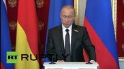 Русия: Мирните преговори са единственото решение за бъдещето на Украйна