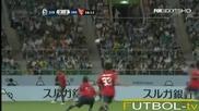 Приятелски мач. Iwata - Independiente. Акценти от срещата.
