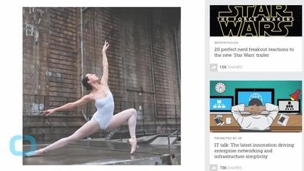Ballet Dancers Pose in Urban Grit
