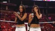 Melina vs Kelly Kelly (bellas attack Kelly)