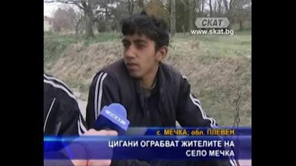 Цигани ограбват жителите на село Мечка.