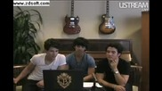 Jonas Brothers Live Facebook Webcast Part 5