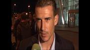 Коментар на играчите на Цска след мача с Рома загубен с 2:0 в Рим