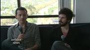 Chester and Brad on Artisan News