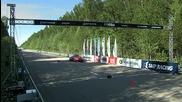 Audi Rs6 Sportmile vs Lamborghini Lp700-4 Aventador vs Bmw M6