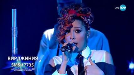 Вирджиния изправи на крака съдиите с Uptown Funk - X Factor Live (26.11.2017)