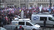 Poland: Thousands protest new state media laws in Warsaw
