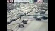 Ядосан Шофьор - Влиза В Насрещното - Катастро