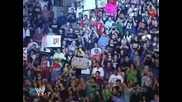 Wwe Raw 2005 John Cena Hulk Hogan And Shawn Michaels Vs Chris Jericho Tyson Tomko And Christian 1