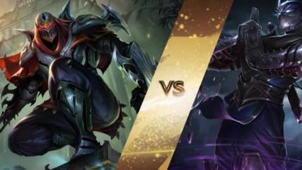 Zed vs Shen (rap Battle)