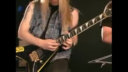 Alexi laiho and Roope latvala playing some awesome stuff