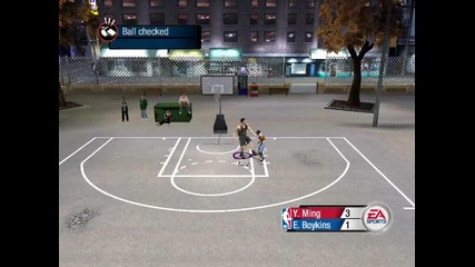Basketball - 165см срещу 229см (nba Live 2005)