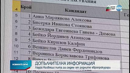 ЕП иска още информация за 7 от 10 наши кандидати за делегирани прокурори