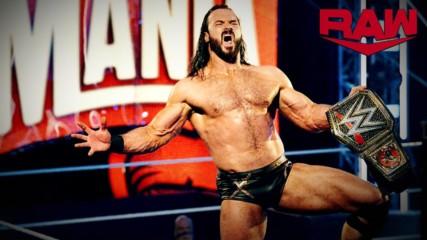 Inicia la Era McIntyre en Raw: WWE Ahora, Abril 6, 2020