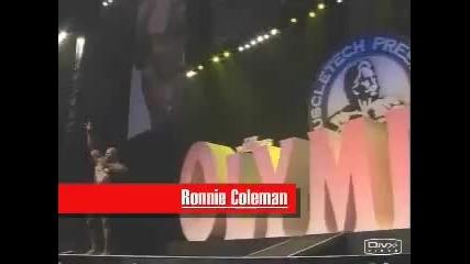 Рони Колман срещу Жей Кутлер