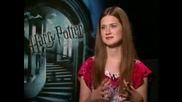 Bonnie Wright - интервю Harry Potter And The Half Blood Prince част 1