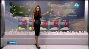 Прогноза за времето (26.12.2015 - обедна)