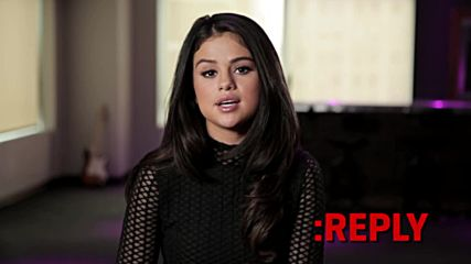 Selena Gomez - Ask-reply Part 1