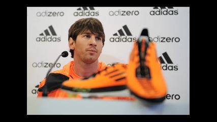 Shakira - Waka , Waka  L . Messi `