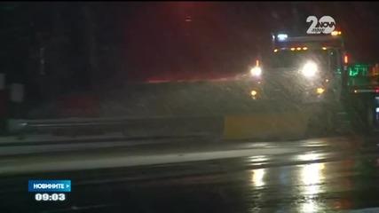 Сняг изненада жителите на Охайо и Ню Йорк