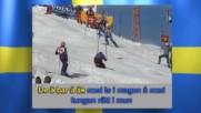 DJ Perrra feat. Alpina Skidlandslaget - De ä bar å åk (Remix 2007) (Оfficial video)