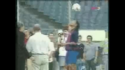 Surprise Ronaldinho