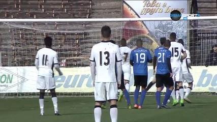 Дуде Ндонгала имитира Кристиано Роналдо