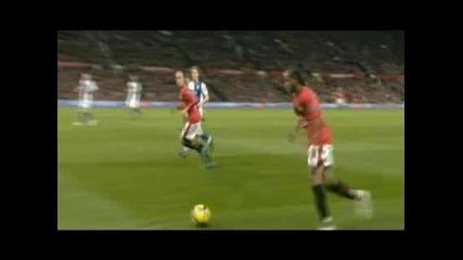 Ман Юнайтед - Блекбърн 2:0 Великолепен гол на Бербатов в основата на успех срещу Блекбърн