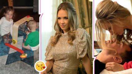 Лора Караджова умили със снимки на двете си прекрасни деца