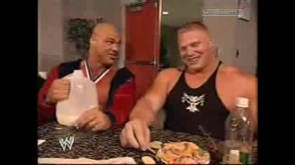 Wwe Kurtangle - Brocklesnar Milksegme