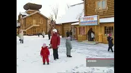 Репортаж о зимней международной школе русского языка