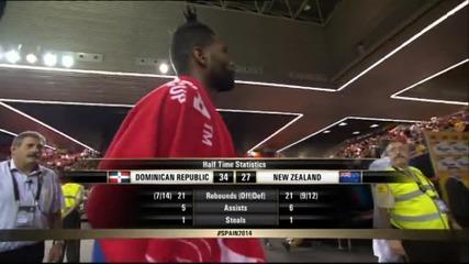 Най-интересното от мача Доминиканска република - Нова Зеландия