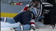 Eric Godard vs Matt Carkner Dec 26. 2010