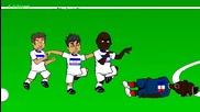 Анимации за световното: Франция 3 - 0 Хондурас