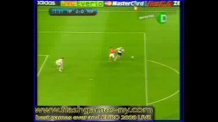 Втория Гол На Германия Стрещу Полша - ВЕЛИК ГОЛ!!ЕВРО 2008 - 08.06.08