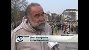 Продължават инициативите за демонтиране Паметника на Съветската армия в София