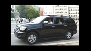 Автомобила на Бойко Борисов