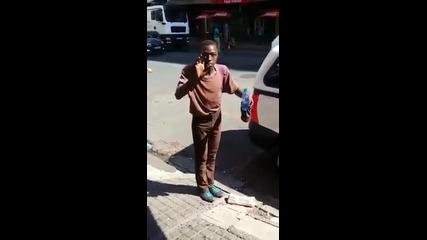Страхотно улично изпълнение