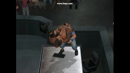 Smackdown vs raw 2010 Чупене на маси 1 part