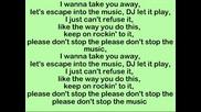 03. Rihanna - Don`t Stop The Music (lyrics)