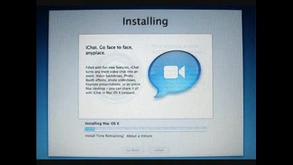 Mac Os X Leopard - Инсталация